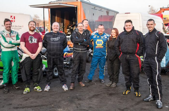 Drivers at the Oval Racing Expo