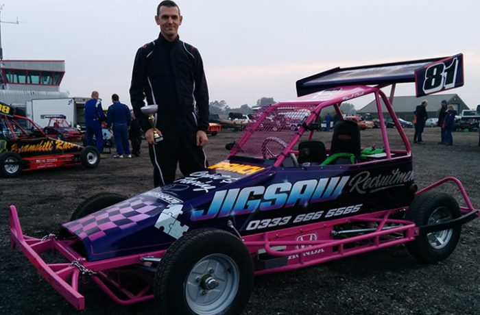 Paul Cook takes third place in National Championship race