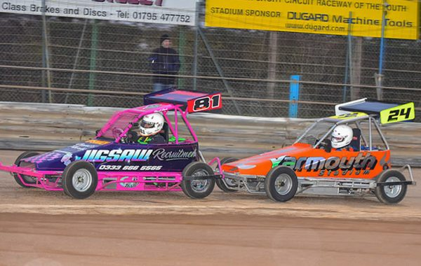 #81 Paul Cook and #24 Neil Dodson