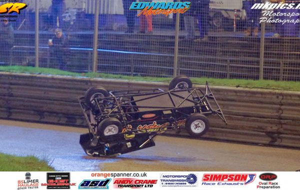 #18 crash at Birmingham Wheels